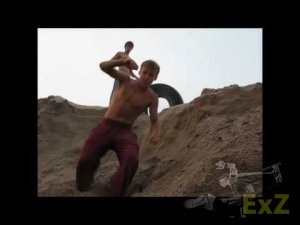 D.Devils sands & water Trainings 2010 (Russian 3run Family, parkour, ...