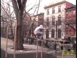 Thompkins Square Instinct Parkour Lessons NYC