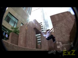 Female Parkour - Colorado Parkour Street Team - Carolynn Grigsby - 2009 Sampler