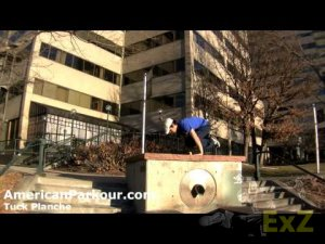 Tuck Planche - Parkour Training and Conditioning Exercise