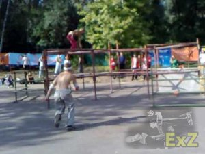 Parkour playground - Tatarstan Parkour Association - September -2009